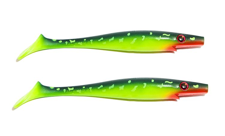 Picture of Pig Shad Jr - Hot Pike - 2-pack