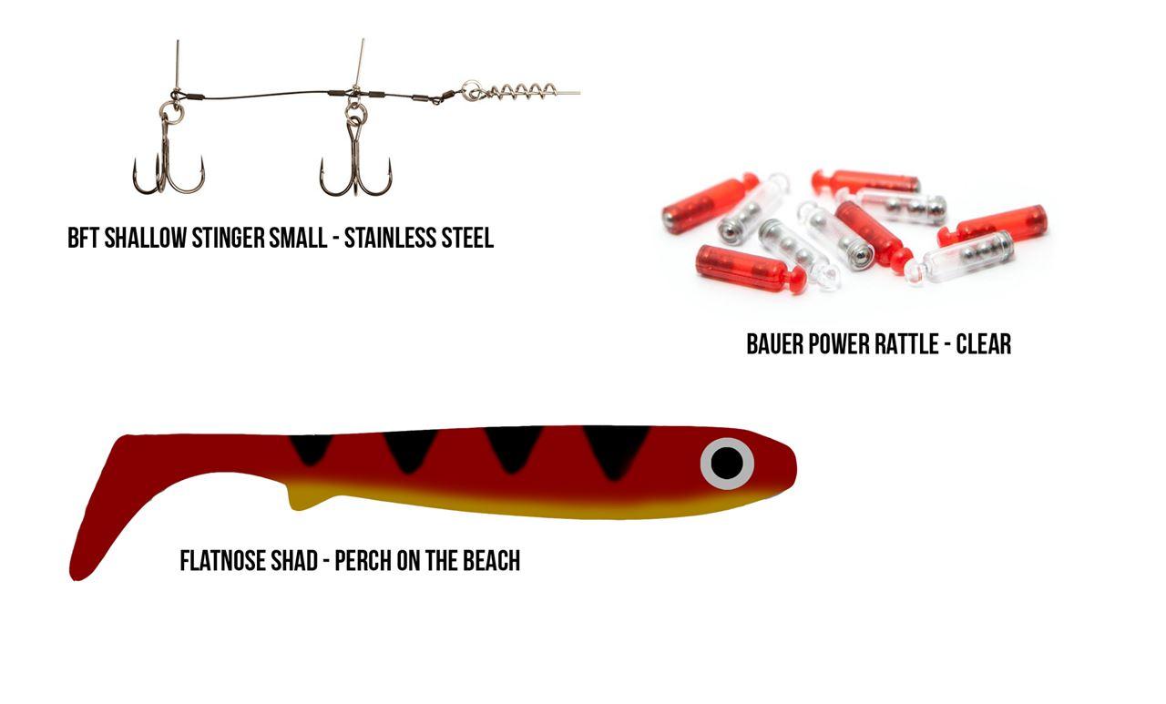 Bild på Flatnose Shad - Perch on the Beach OS - bundle