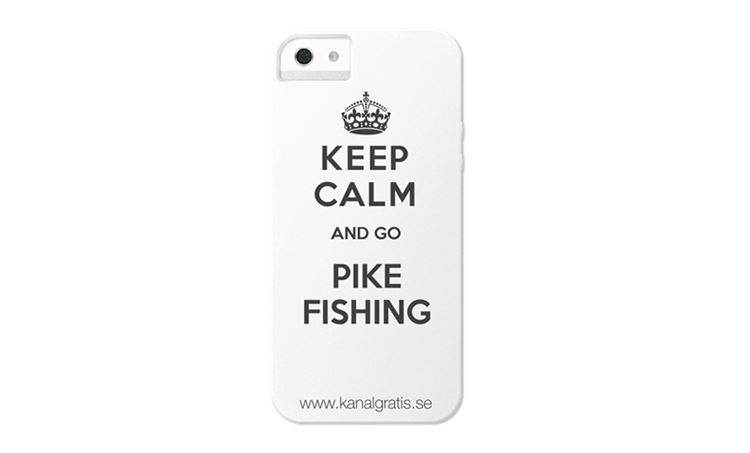 Bild på iPhone Case - Keep Calm Go Pike Fishing 5/5s