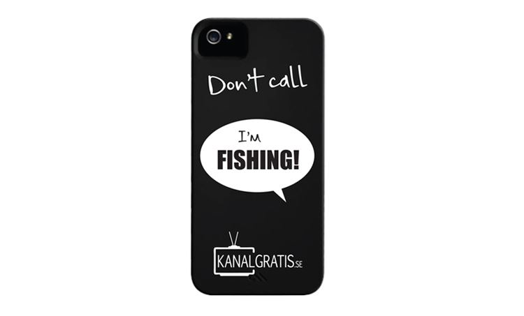 Bild på iPhone skal - Don't Call I'm Fishing
