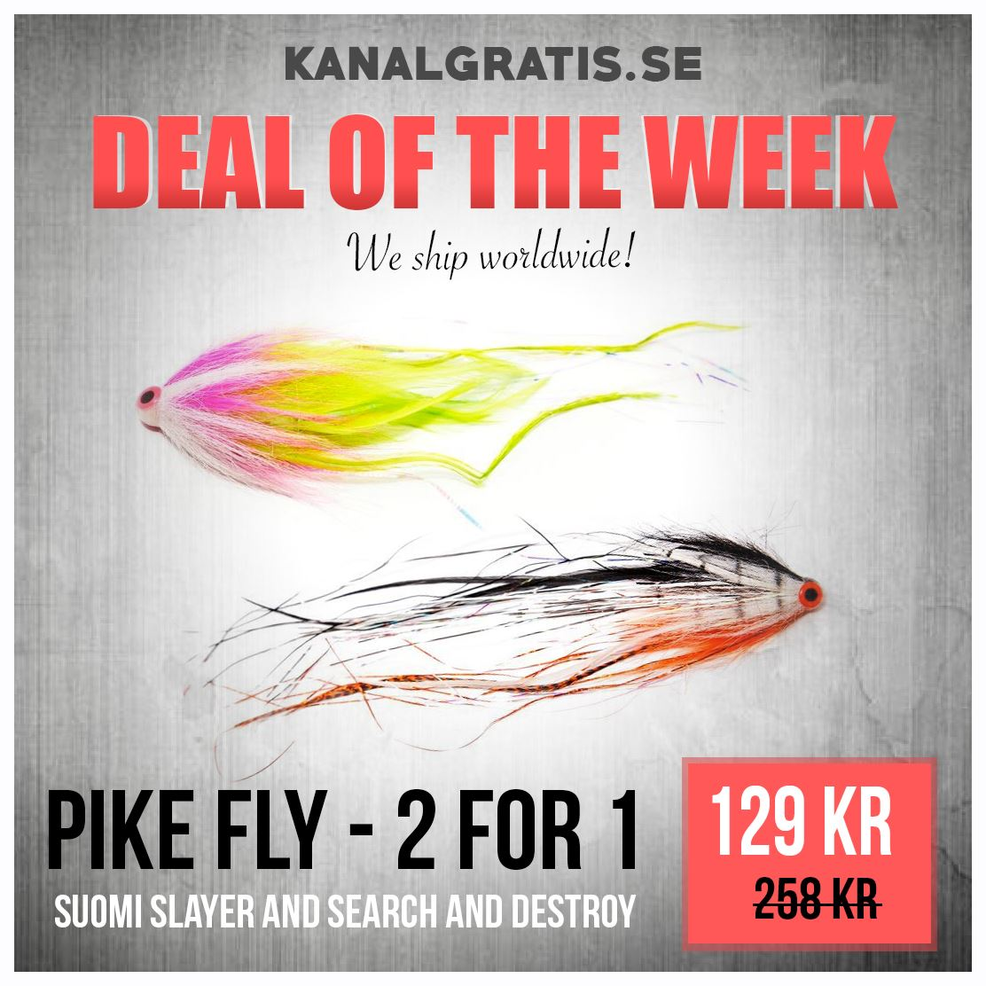 Picture of Deal of the Week - Pike Fly - 2 for 1