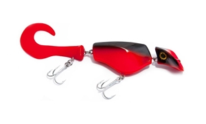 Picture of Headbanger Tail 23 cm - Blackred