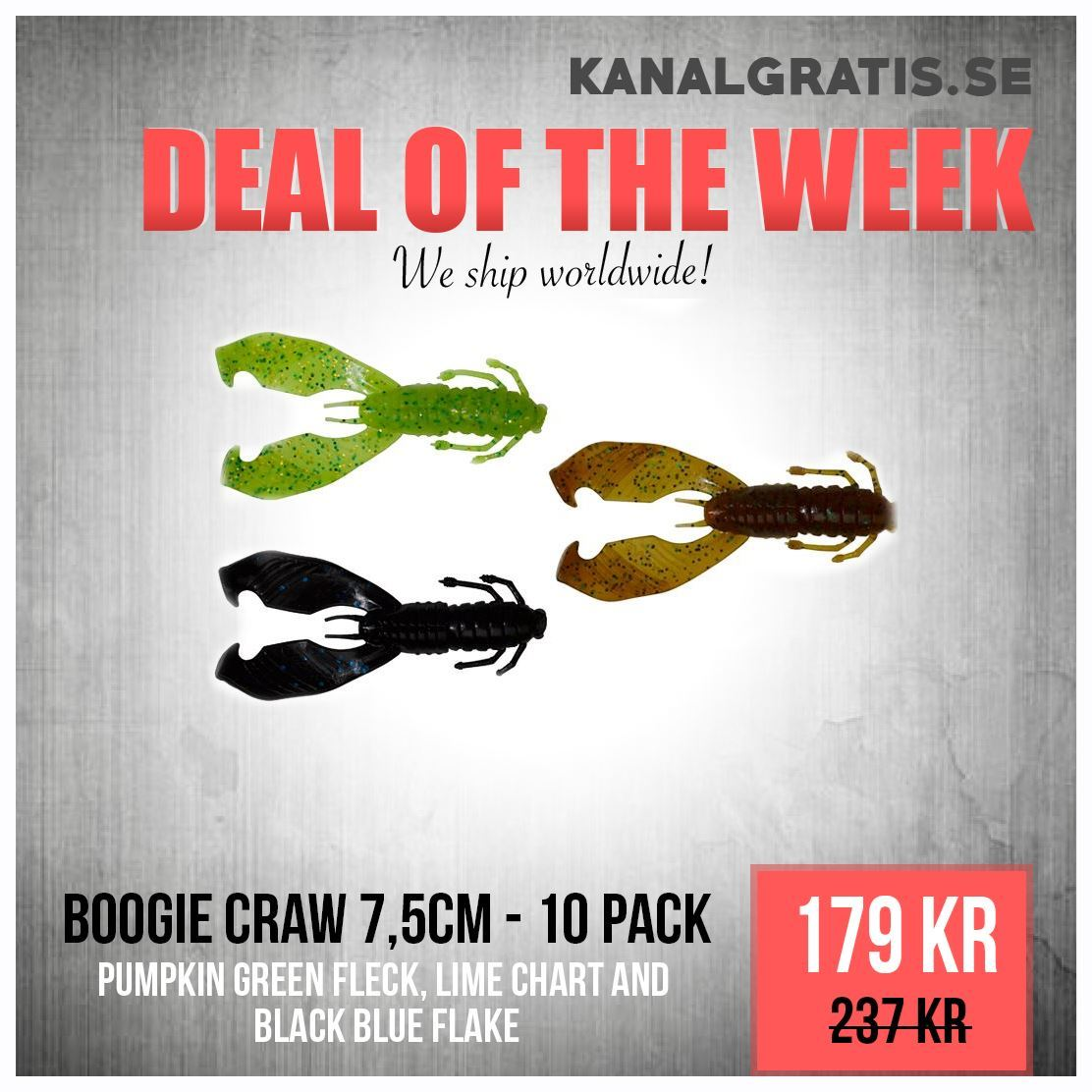 Picture of Deal of the Week - Boogie Craw Bundle
