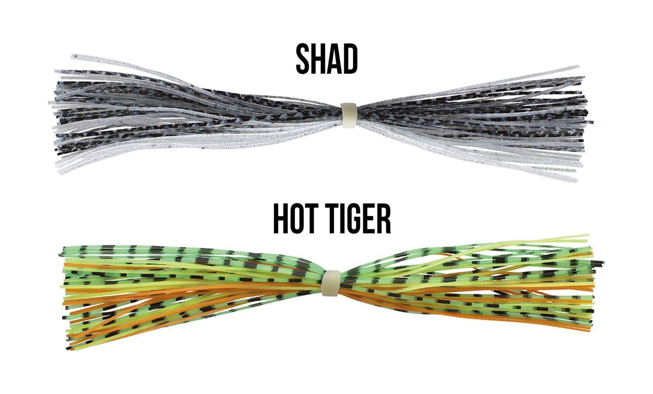 Picture of Spinner Bait Skirts - Shad