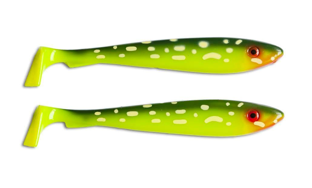 Picture of McRubber Shad 23 cm - Hot Pike - 2 pack
