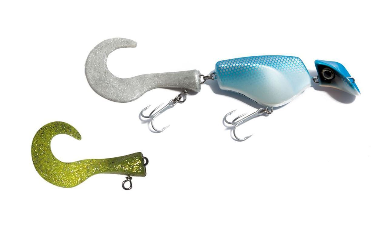 Bild på Headbanger Tail Blue/Silver Floating & Chartreuse Extra Tail