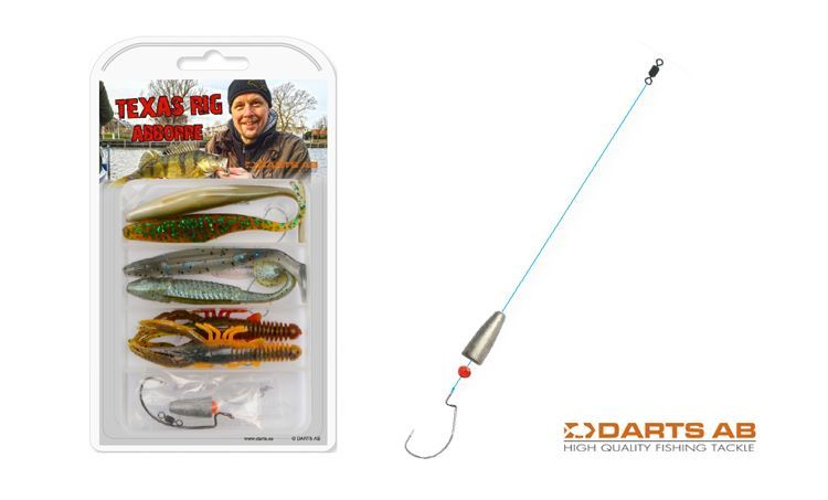 Picture of Texas Rig - Ready-to-use-kit with rig and jigs - Darts
