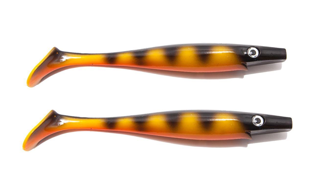 Bild på Pig Shad Jr - Black Okoboji Perch - 2 pack