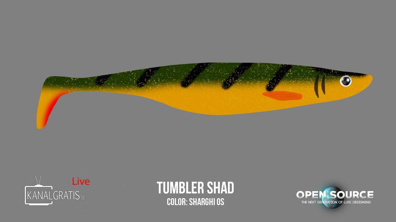 Bild på Tumbler Shad 17 cm - Sharghi OS