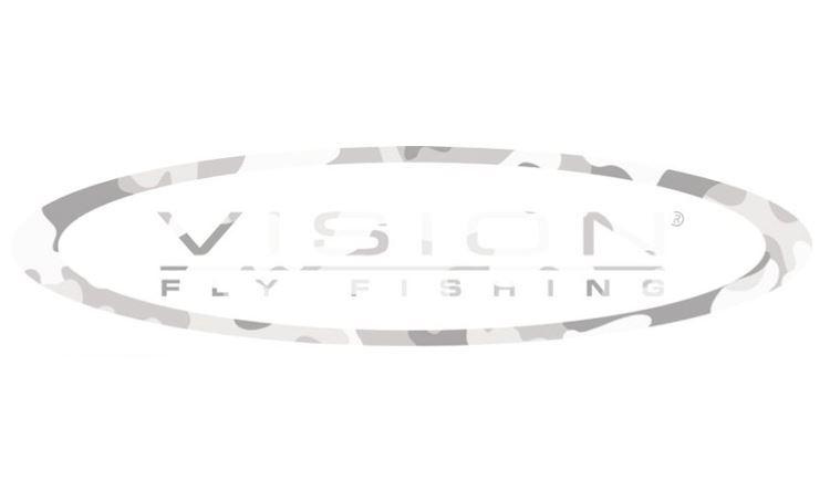 Bild på Vision klistermärke - Camo White - 300 mm