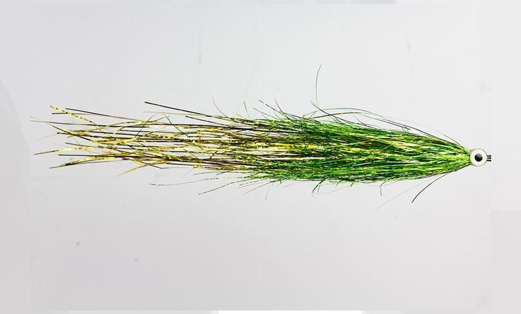 Bild på Gäddfluga - Bauer's UV Green Gold