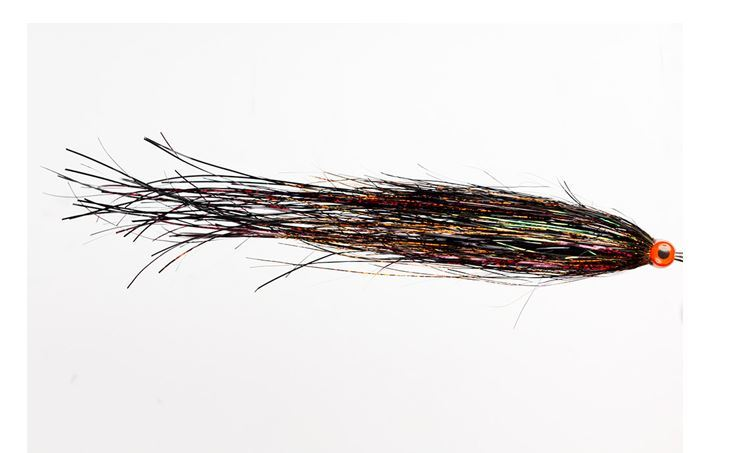 Picture of Pike Fly - Bauer's UV Bleeding Black