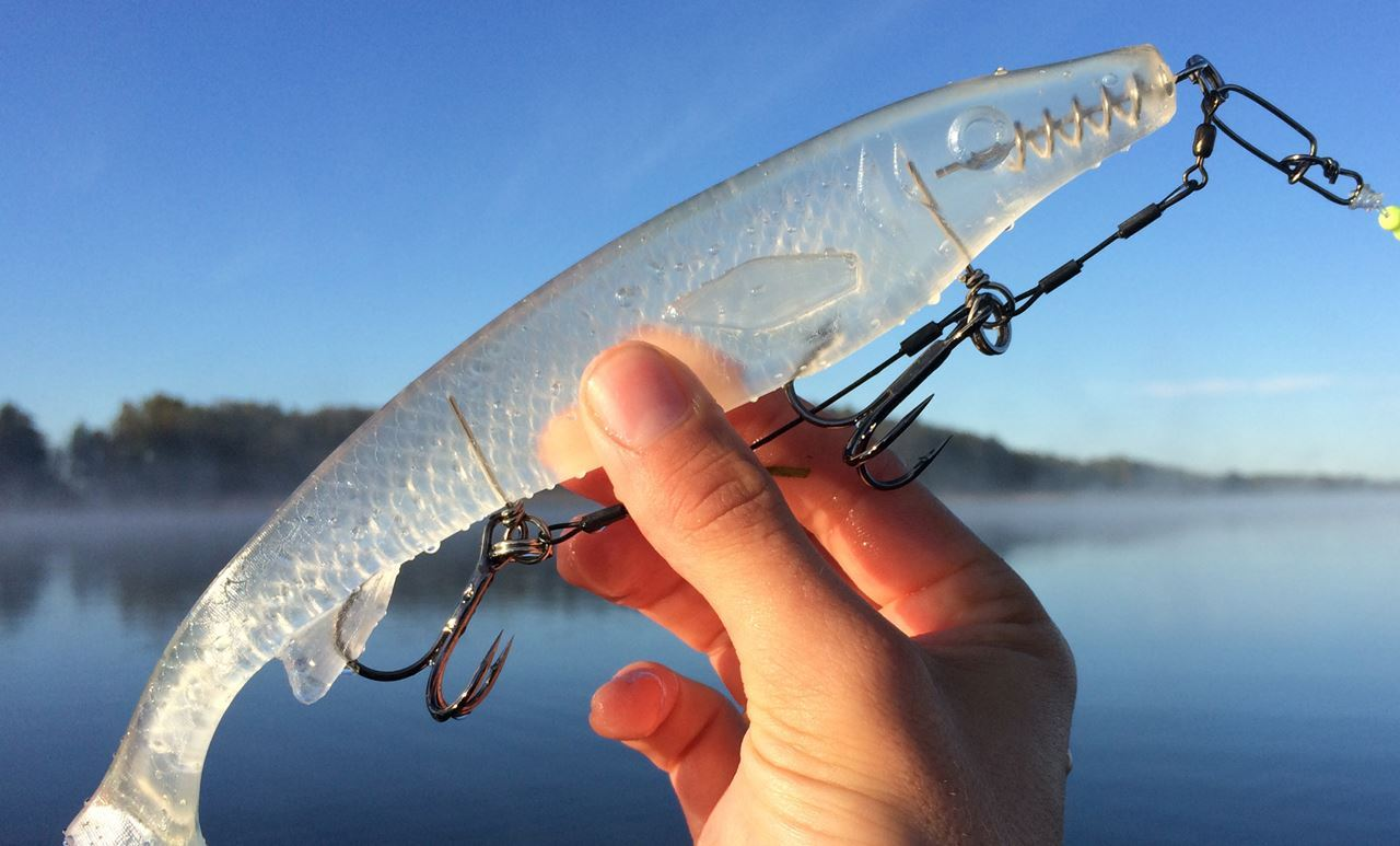 Picture of Fatnose Shad - Crystal Clear