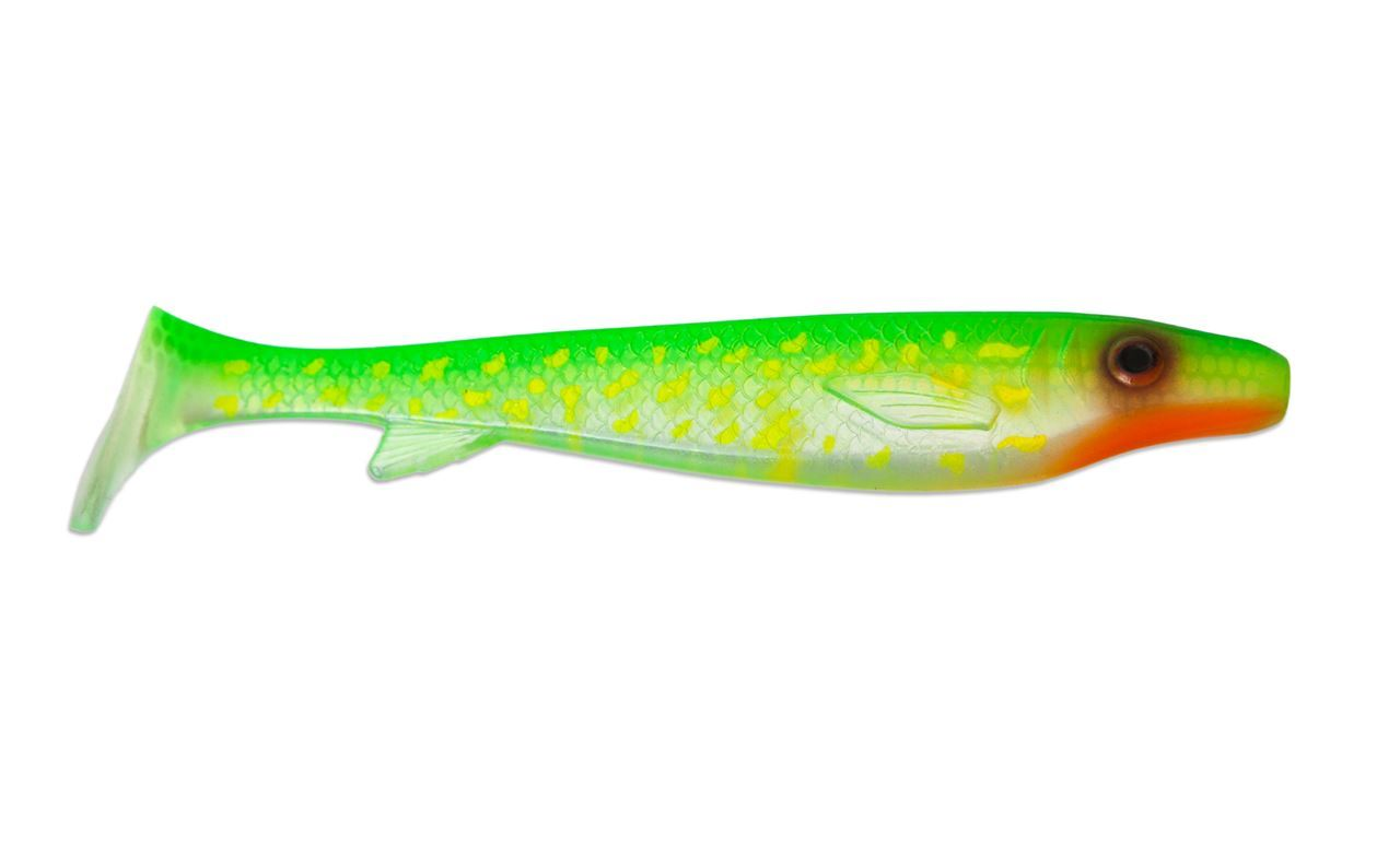 Picture of Fatnose Shad - Transparent Hot Pike