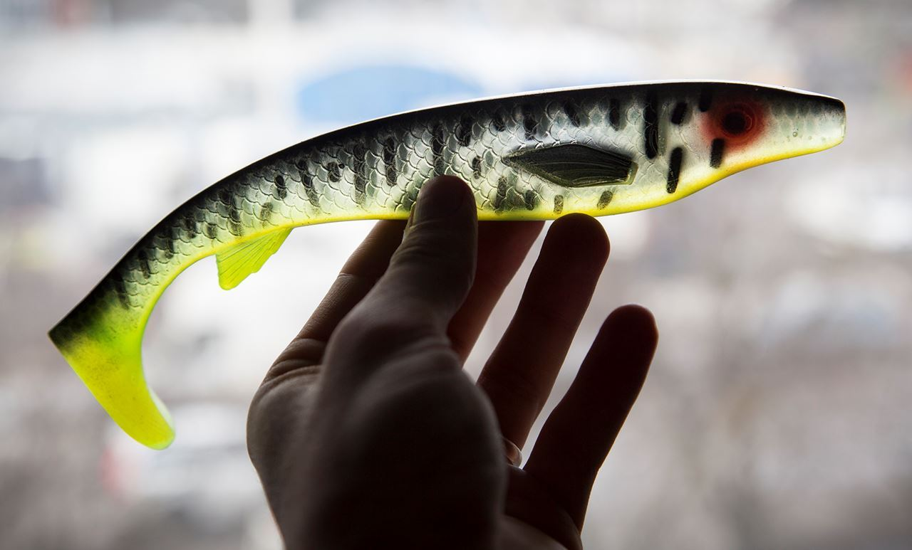 Picture of Fatnose Shad - Yellow Dawn Clear