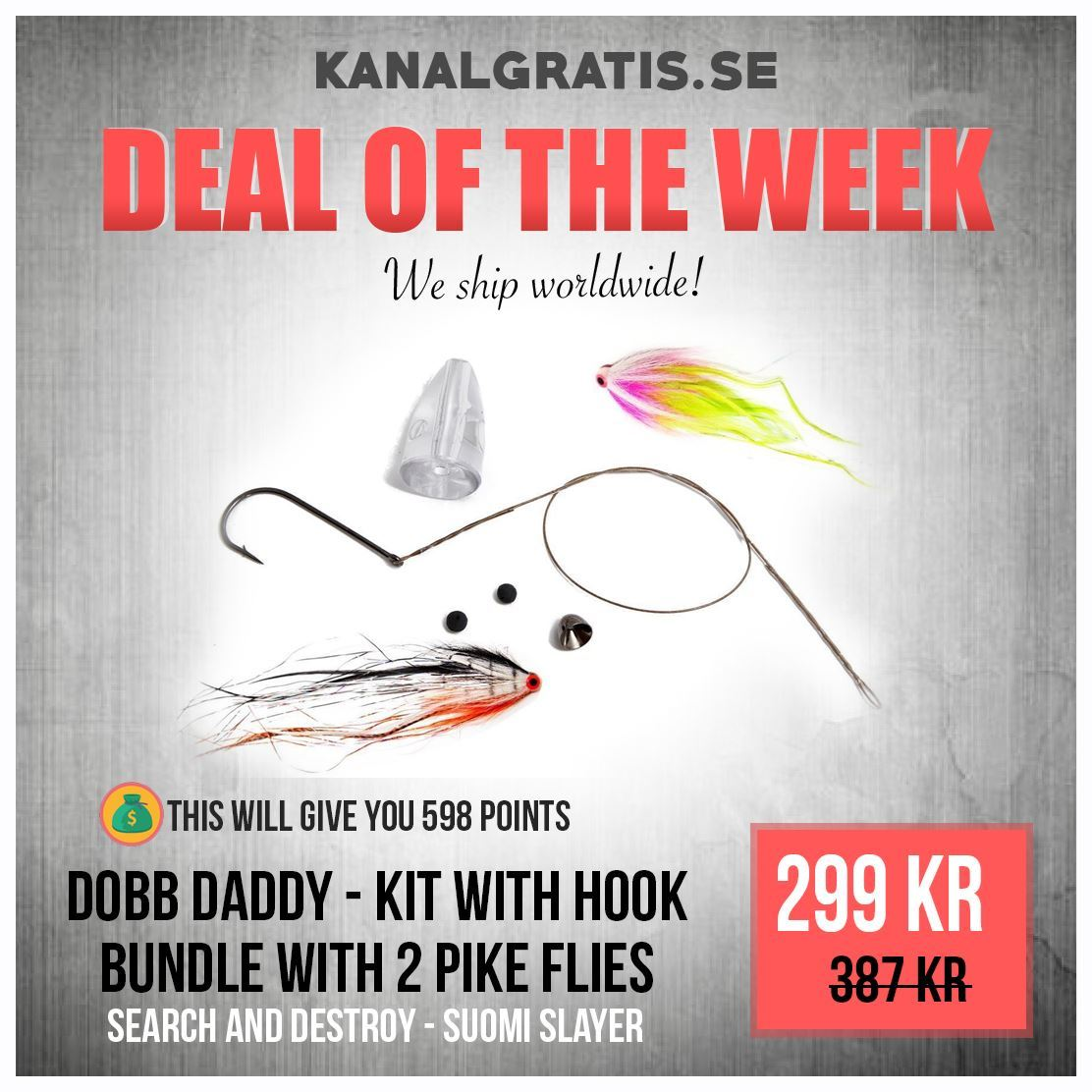 Picture of Dobb Daddy - Bundle with 2 Flies