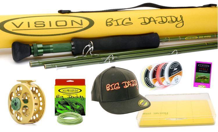 Bild på Vision Big Daddy gäddflugfiske kit
