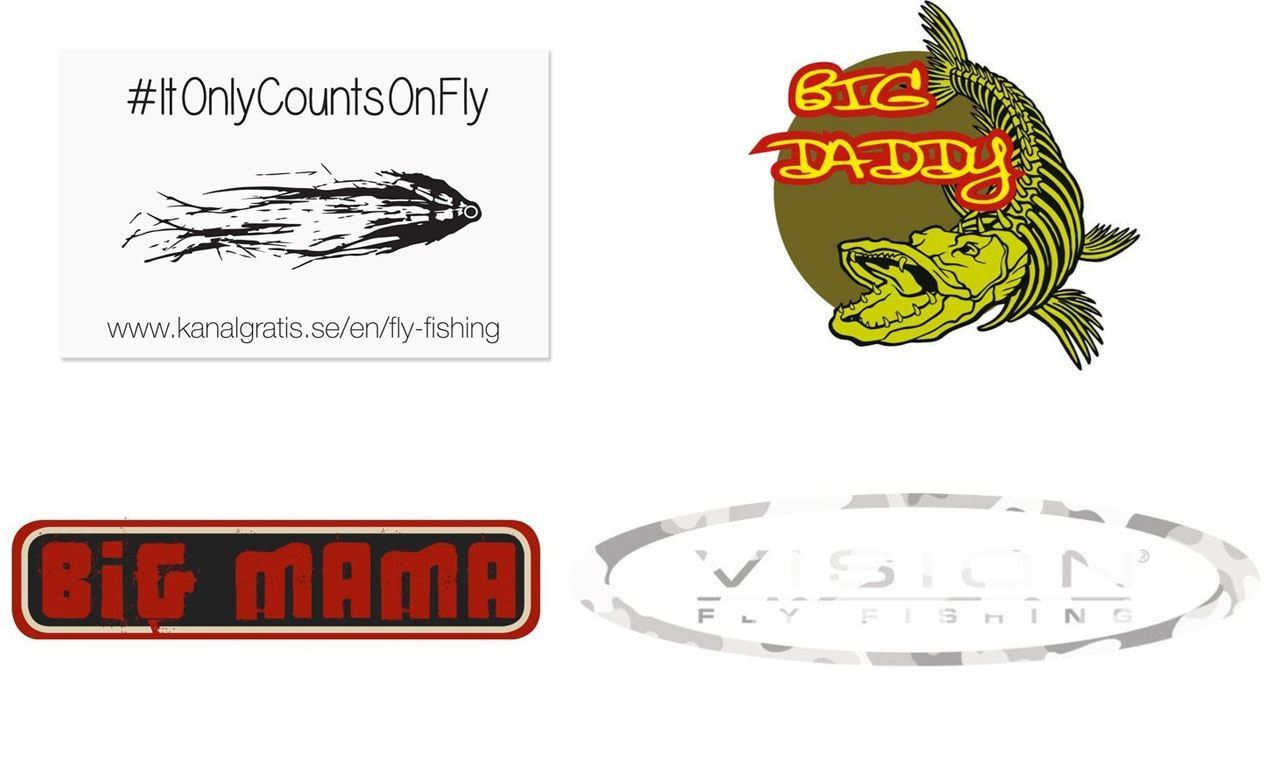 Picture of Stickers - Fly Fishing Bundle
