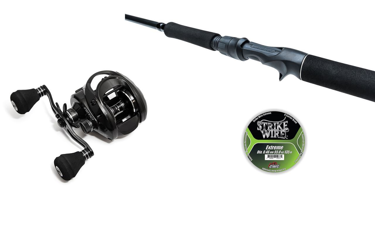 Bild på High-End Ready to Fish - Gator BigBait and BFT Instinct X7