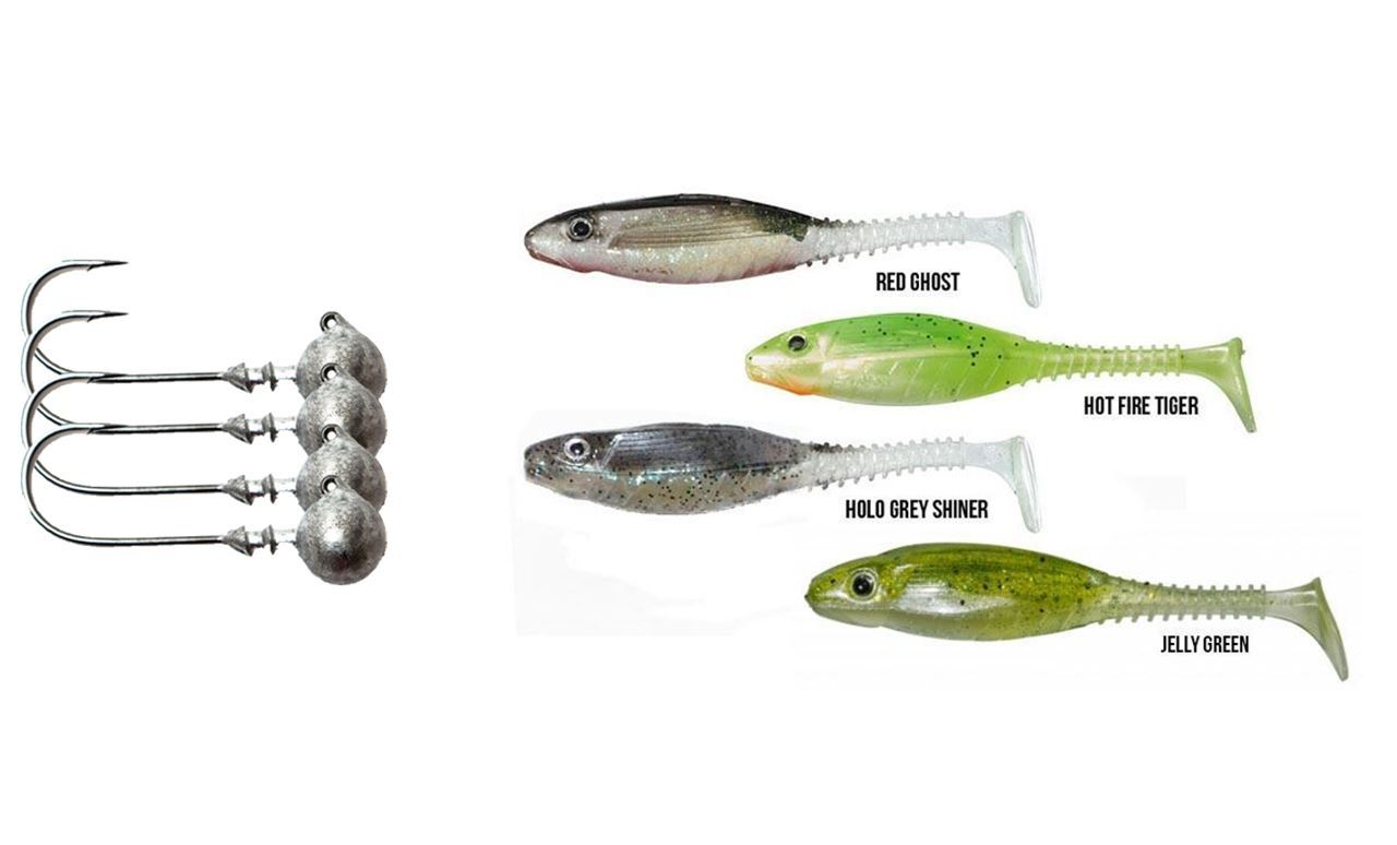 Picture of Gunki Grubby Shad 8,5 cm - 6 pack - Bundle
