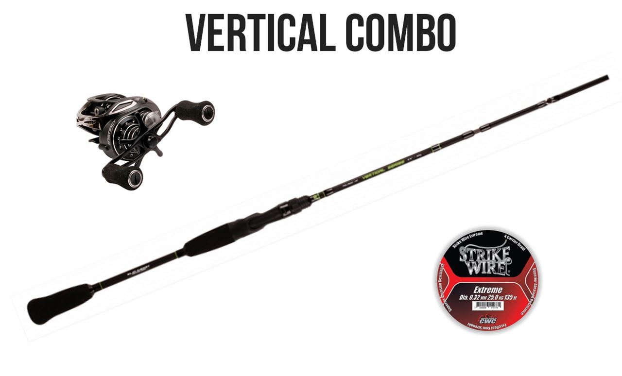 Picture of Vertical Combo Rod & Reel