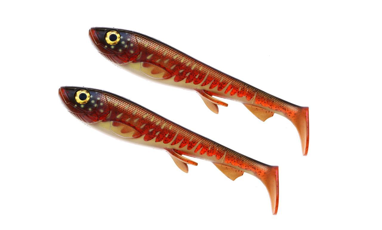 Bild på Wolfcreek Shad Jr 2-pack - Bloody Pike