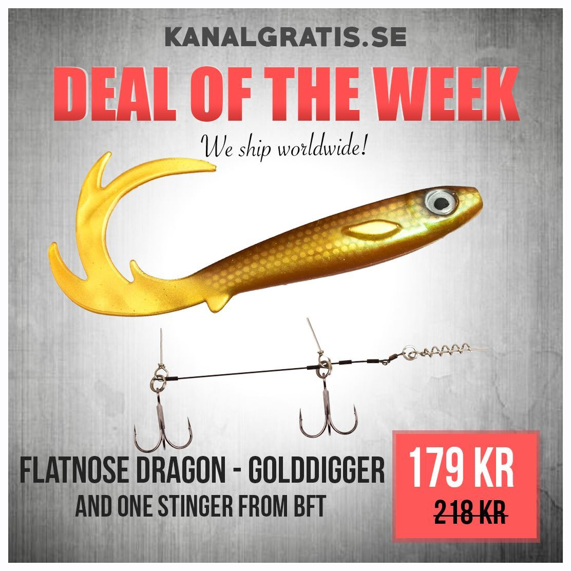 Picture of Flatnose Dragon - Golddigger Bundle