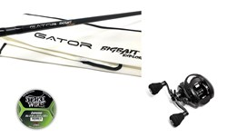 "Bild på Gator BIGBAIT Explorer 8'5"" - 180 gr (2-piece) with Instinct X7 Reel and line"