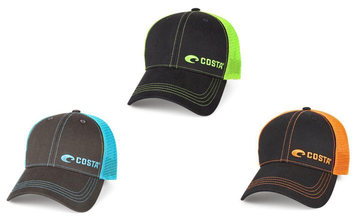 Bild på Costa Neon Trucker Offset Logo Hat