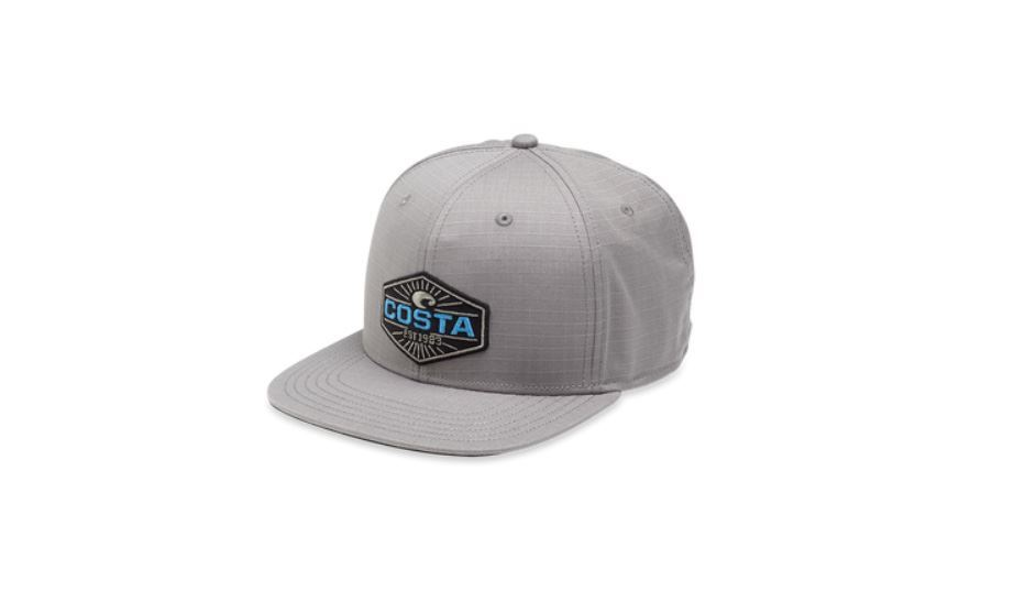 Picture of Costa Neptune Ripstop Flat Brim Hat - Gray