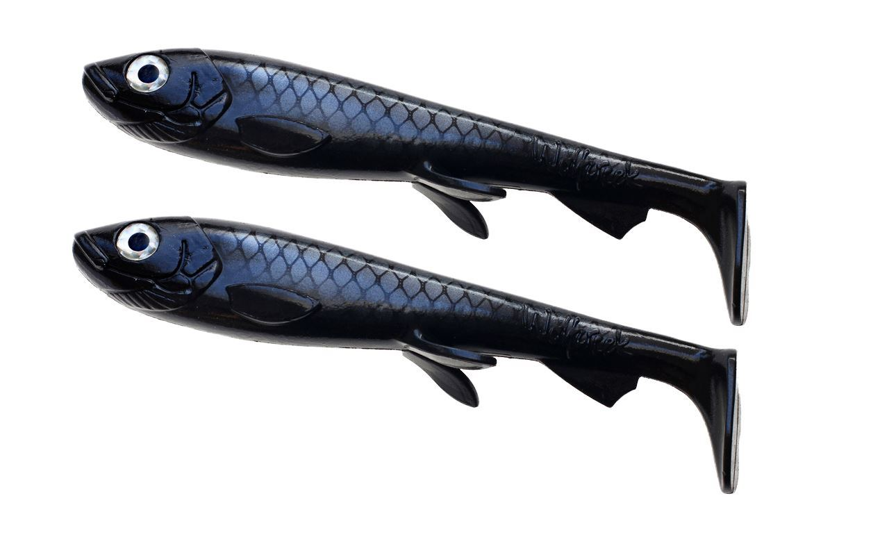 Bild på Wolfcreek Shad 2-pack - Black Baitfish