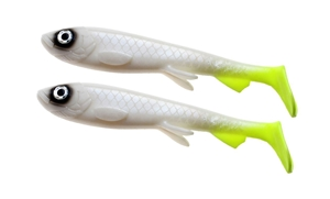 Bild på Wolfcreek Shad 2-pack - White Baitfish