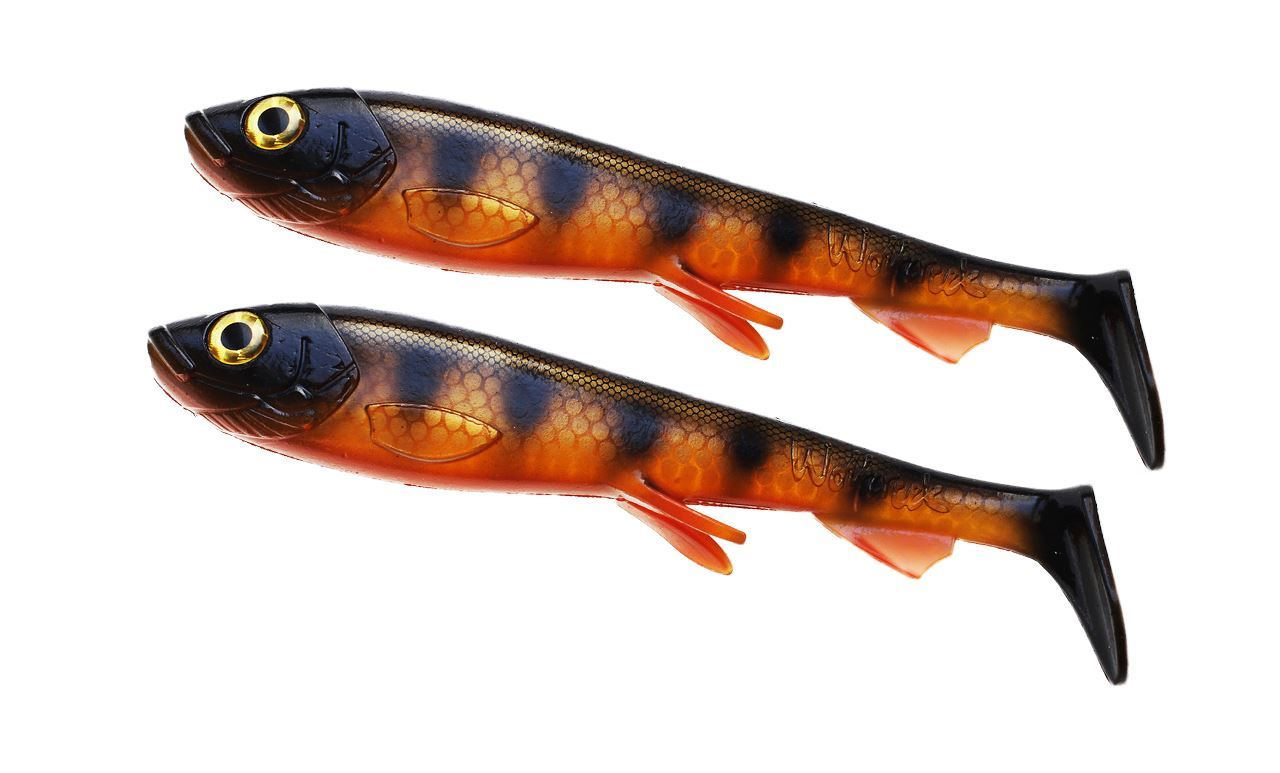 Picture of Wolfcreek Shad 2-pack - Black Okoboji Perch