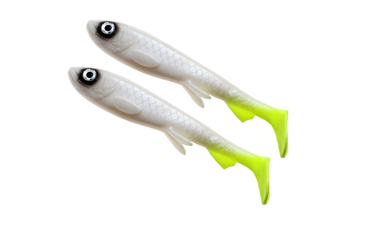 Picture of Wolfcreek Shad Jr 2-pack - White Baitfish