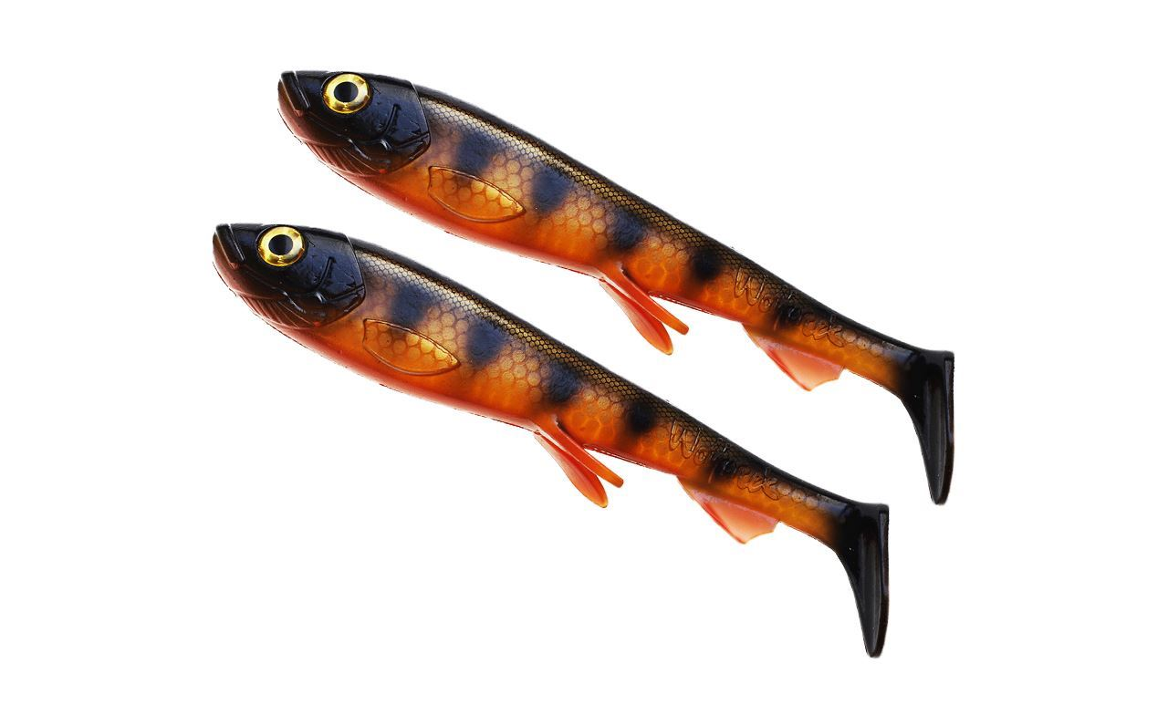 Picture of Wolfcreek Shad Jr 2-pack - Black Okoboji Perch