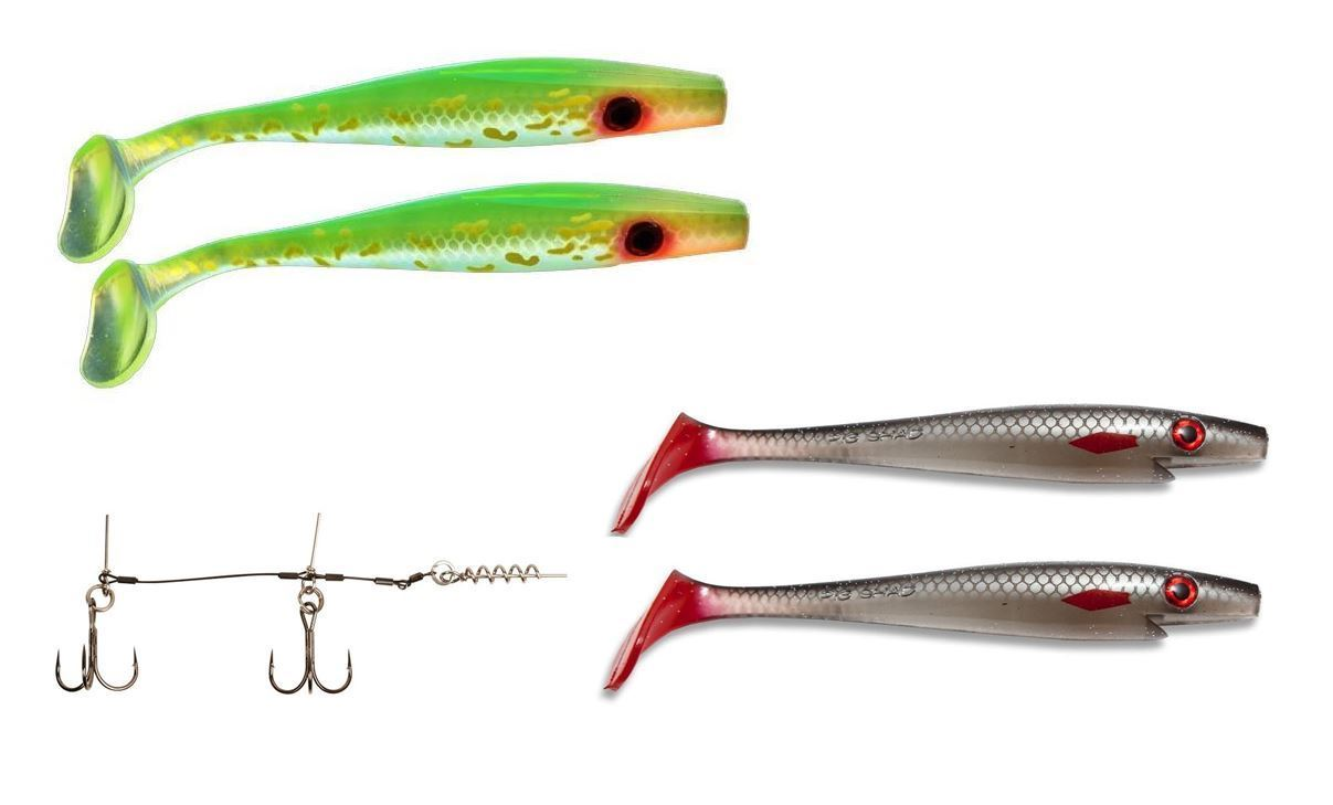 Bild på Pig Shad Jr Bundle - New Colors