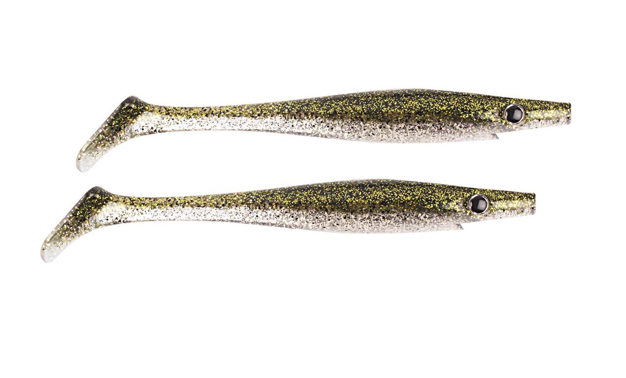 Bild på Pig Shad Jr - Green Ice - 2 pack