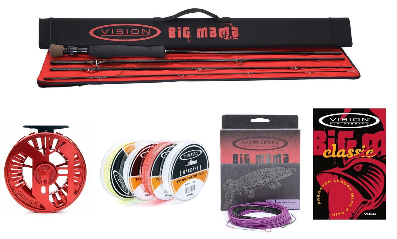Picture of Vision Big Mama Pike Fly Fishing Kit