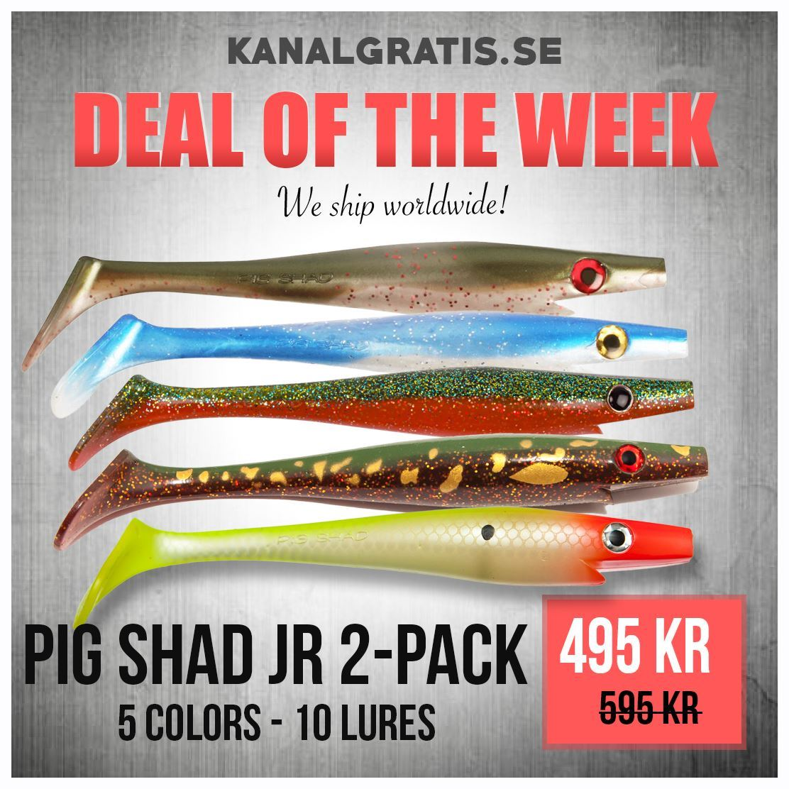 Picture of Deal of the Week - Pig Shad Jr Bundle
