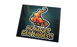 "Bild på Sticker - Team Galant ""Den Biggest"""