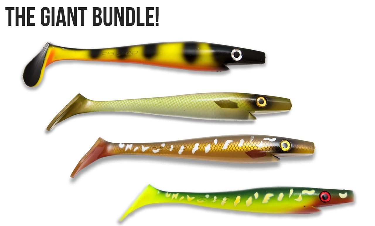 Picture of Giant Pig Shad Bundle - Kanalgratis custom colors