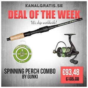 Picture of GUNKI PERCH COMBO - Finesse Game Spinning 220 ML