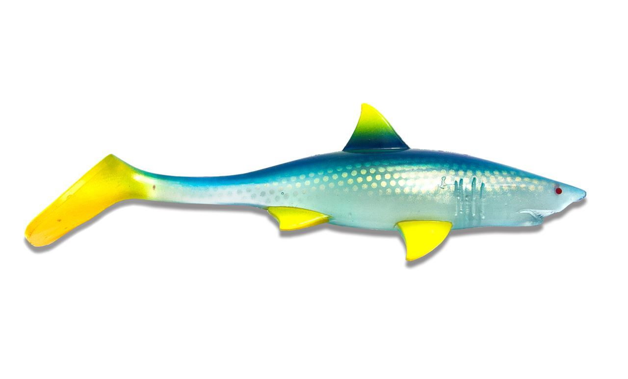 Picture of Shark Shad - Clear Blue Lemonade 20 cm