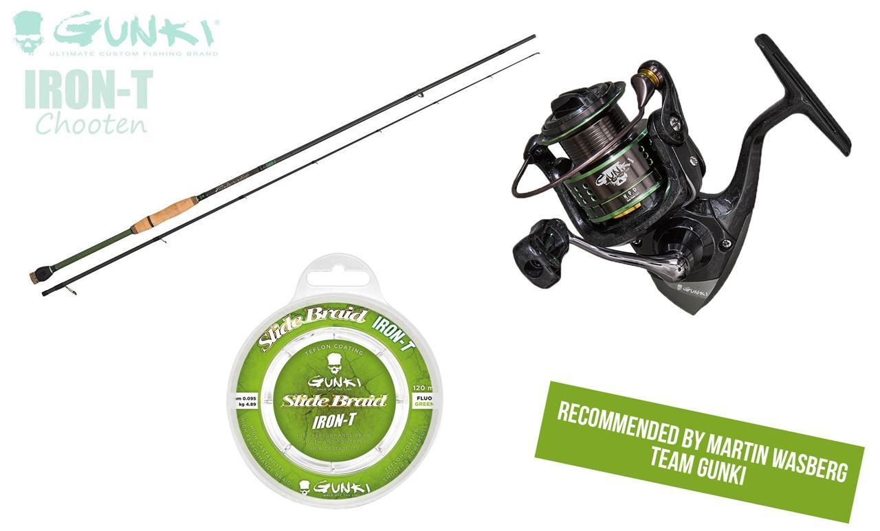 Picture of Spinning Combo Perch Fishing - Rod, Reel & Line from Gunki