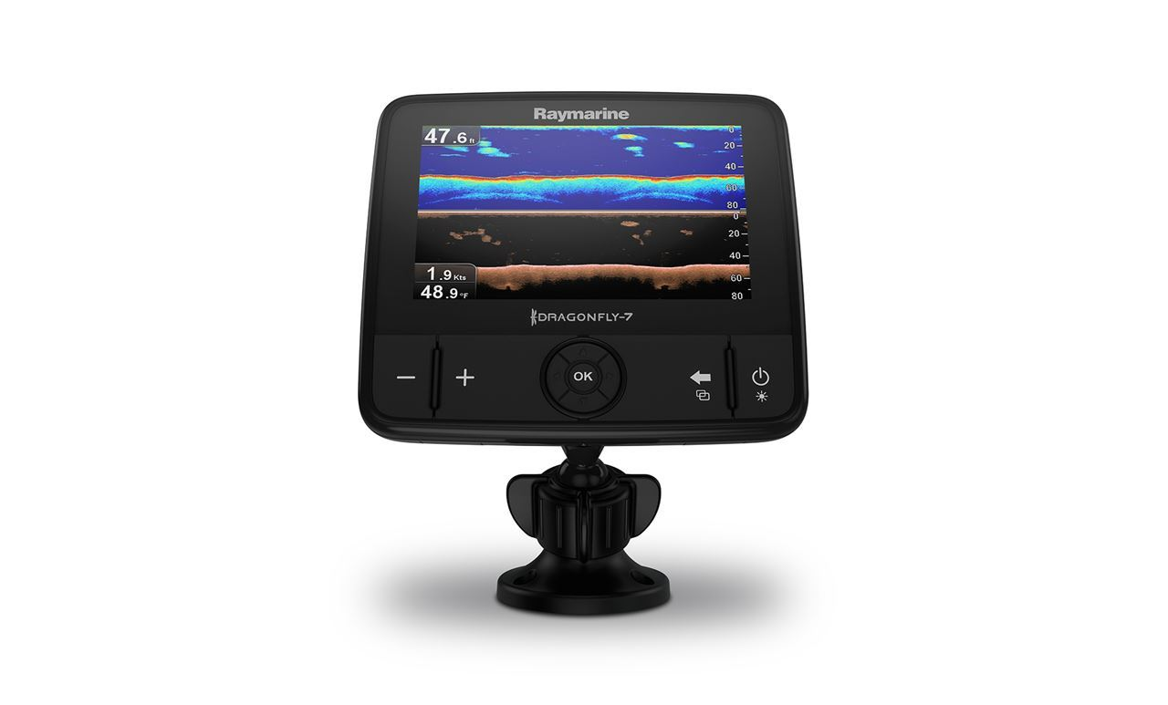 Picture of Raymarine Dragonfly 7 PRO including transducer