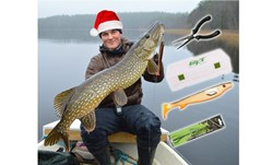 Picture of BUNDLE (Perfect Christmas Gift) Plier, box, Fatnose Shad and stinger