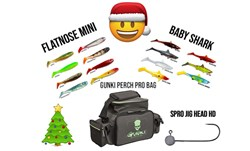 Picture of BUNDLE (Perfect Christmas Gift) Flatnose Mini and Baby Shark (hook and bag)