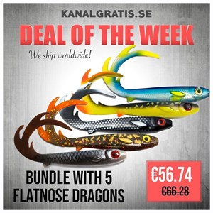 Picture of Flatnose Dragon Bundle - 5 colors