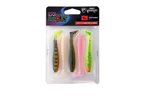 Picture of Fox Rage Spikey Shad mixed colors 6 cm