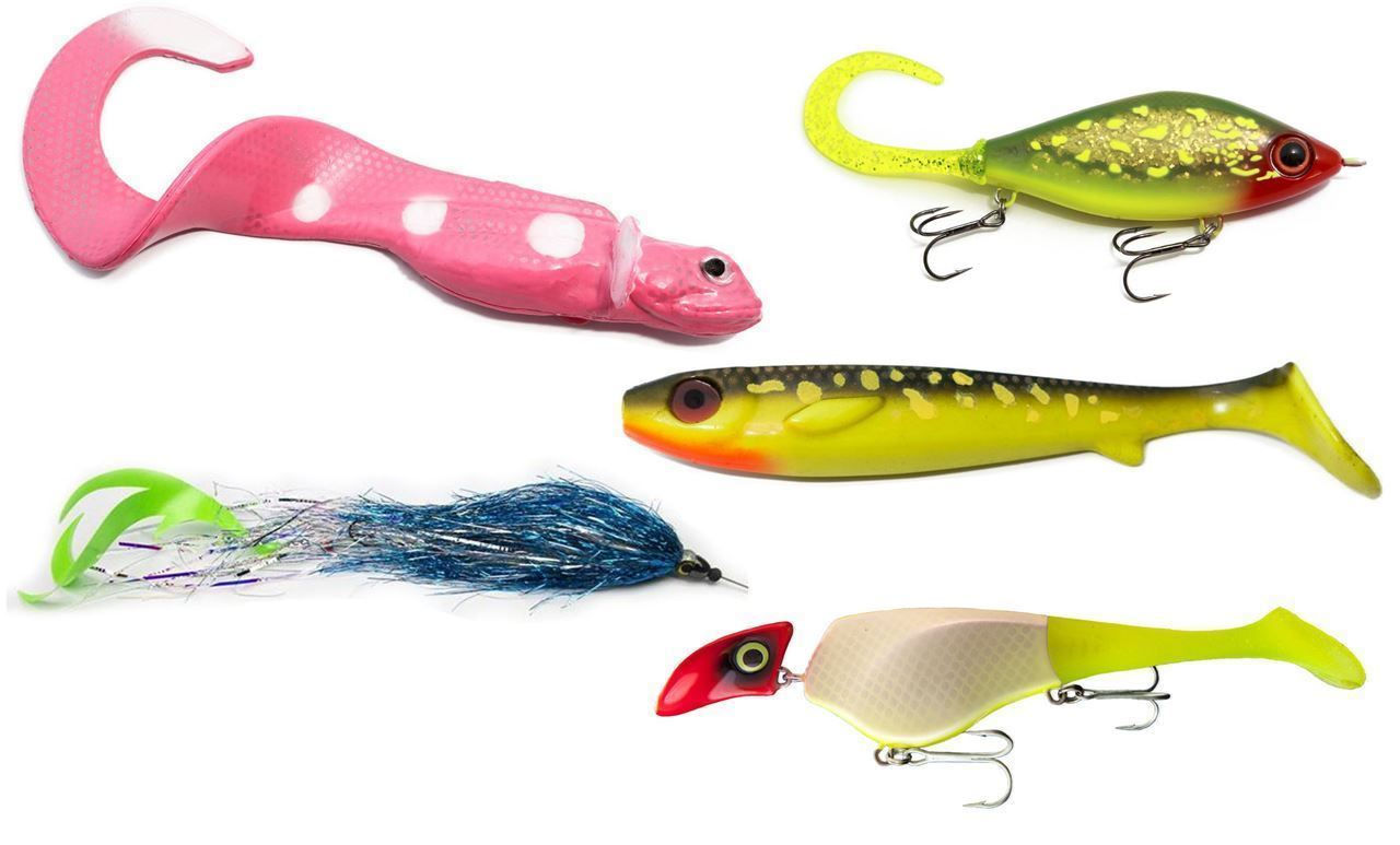 Picture of TOP 5 PIKE LURES - Murky water